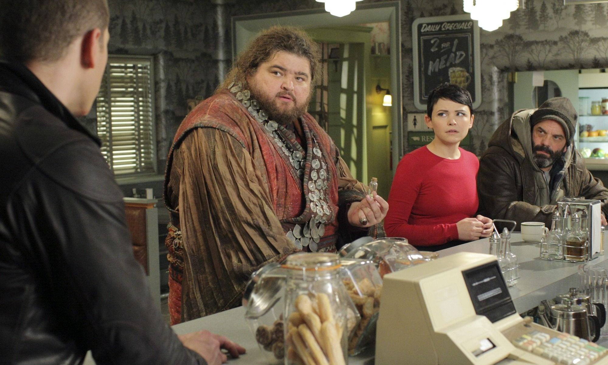 Tiny is welcomed into Storybrooke