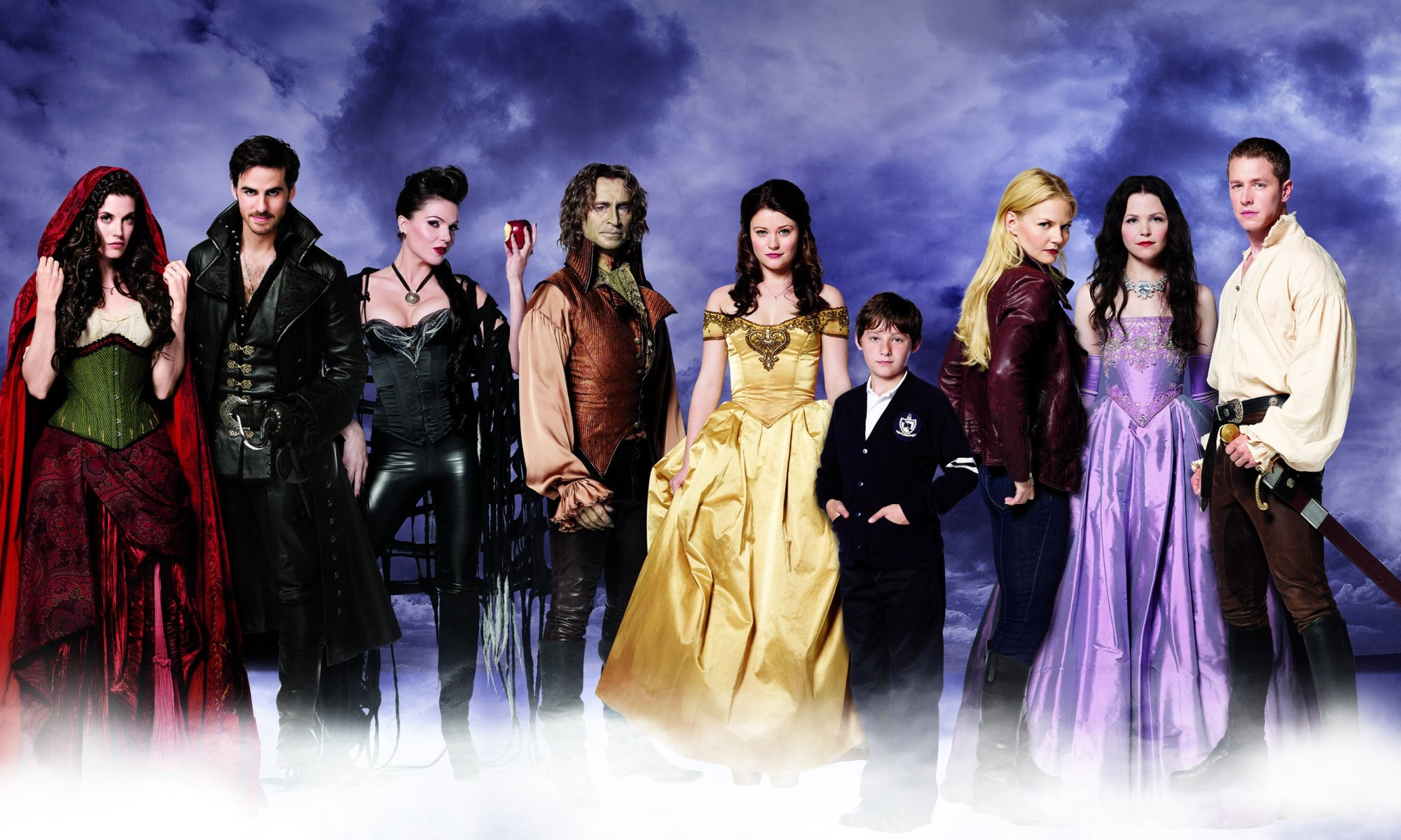 The Cast of Once Upon a Time Season 2