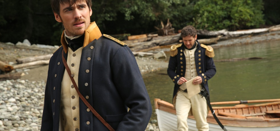 Liam and Killian Jones arrive in Neverland