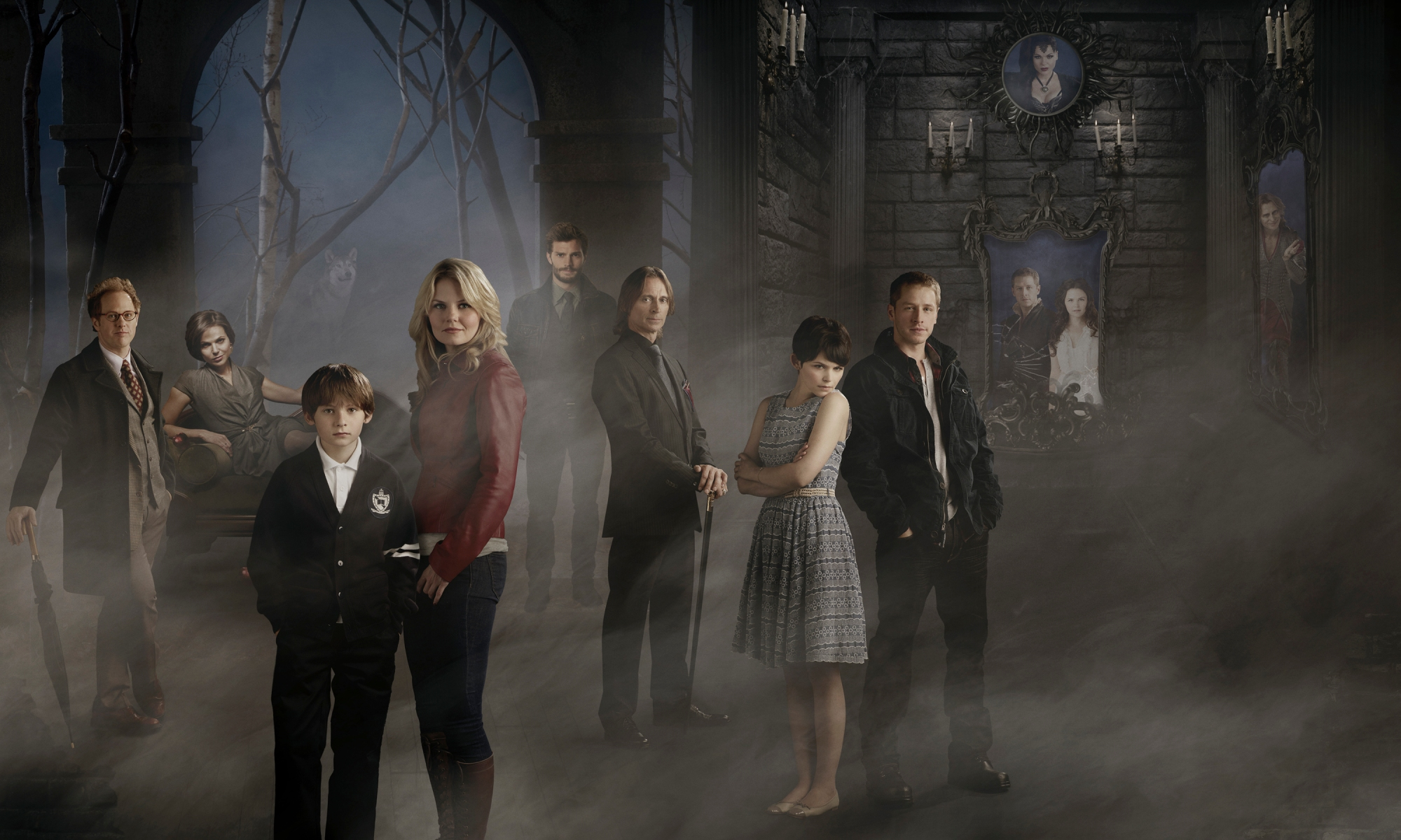The characters of Once Upon a Time Season 1