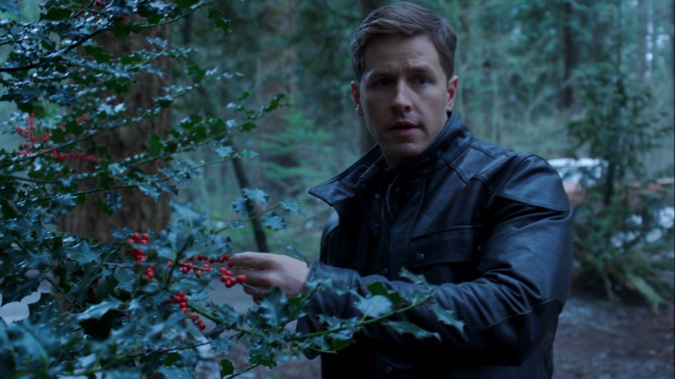 Charming sees the berries they are looking for