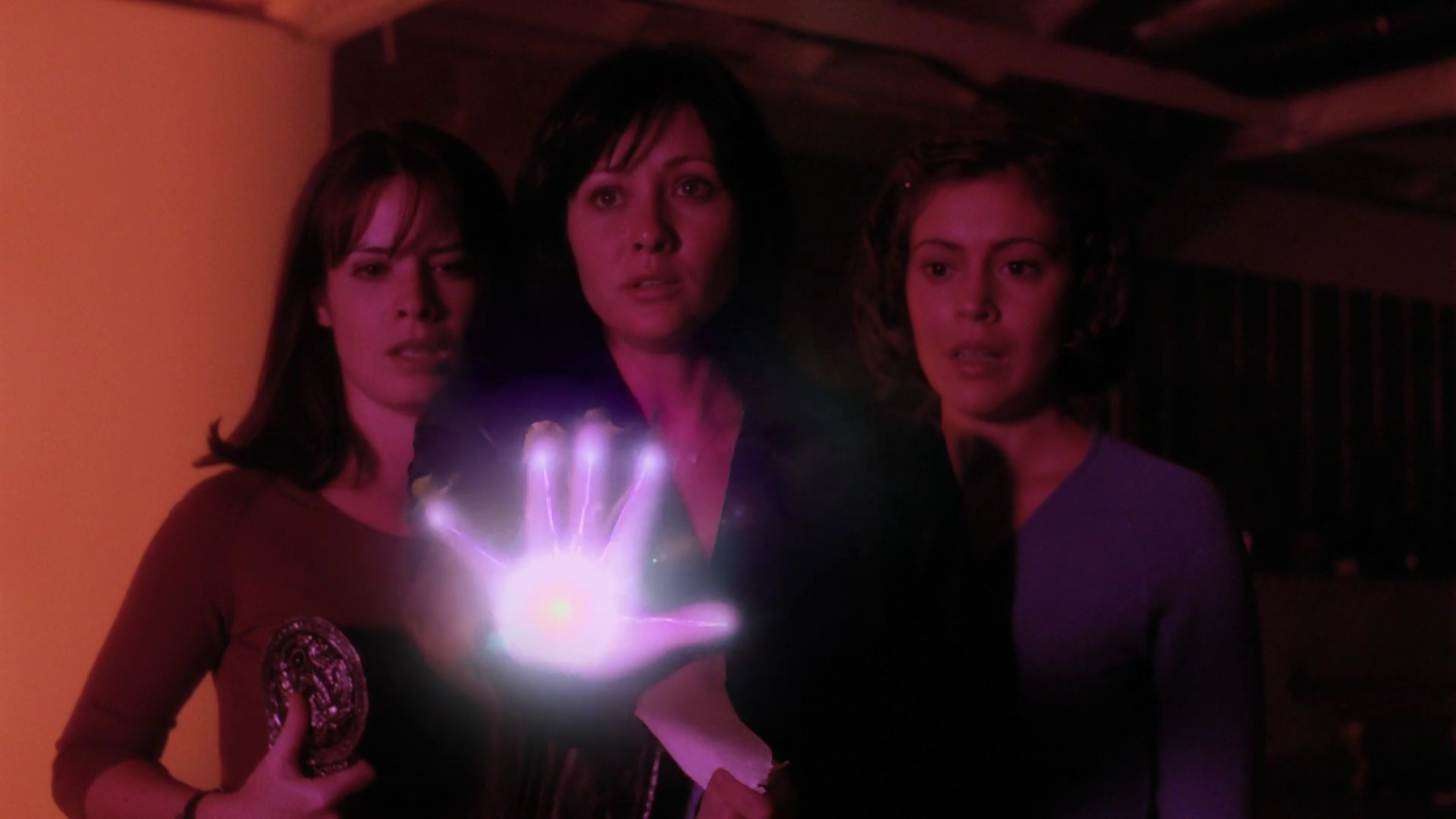 Piper, Prue and Phoebe in Charmed